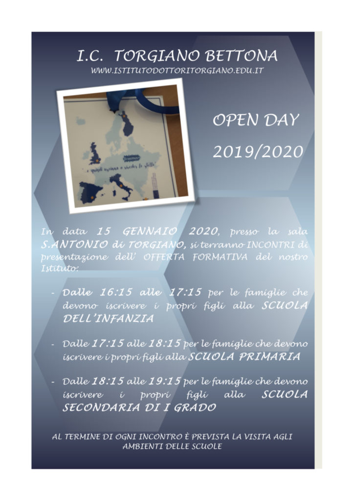 openday 2019-2020